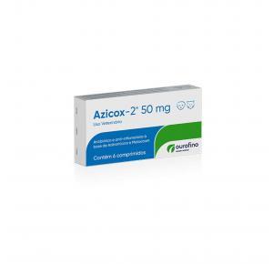 Antibiótico e Anti-Inflamatório Azicox 2 com 6 Comprimidos Ourofino 200mg