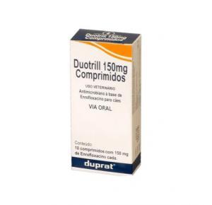 Antimicrobiano Duotrill 150mg Duprat - 10 comprimidos