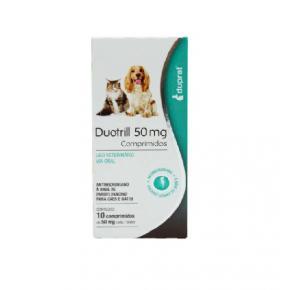 Antimicrobiano Duotrill 50mg Duprat - 10 comprimidos