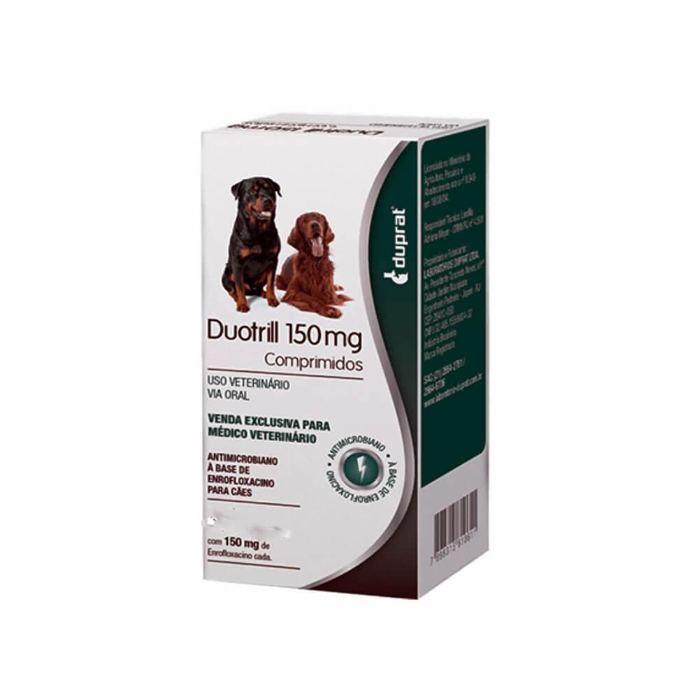 Antimicrobiano com 10 Comprimidos Duotrill 150mg Duprat