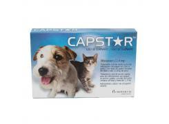 Antipulgas Capstar 11,4mg Cães e Gatos Elanco 1 comprimido