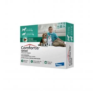 Antipulgas Comfortis para Cães de 9 à 18 Kg e Gatos de 5.5 à 11 Kg 560 mg Elanco