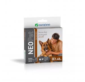Antipulgas Neopet Cães de 20.1Kg à 40Kg Ourofino