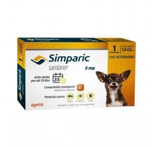 Antipulgas Simparic Cães de 1.3 a 2.5kg 1 Comprimido