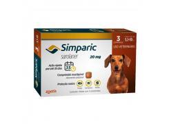 Antipulgas Simparic Cães de 5.1 a 10kg3 Comprimidos