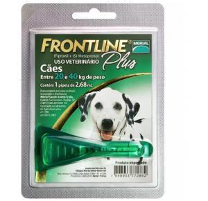 Antipulgas e Carrapatos Frontline Plus para Cães de 20 a 40kg
