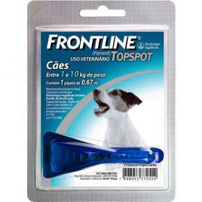 Frontline Top Spot  Antipulgas Cães 1 a 10 Kg (1 pipeta)