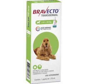 Bravecto Transdermal Antipulgas Cães de 10 a 20kg
