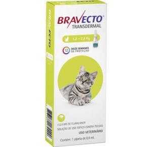 Bravecto Transdermal Antipulgas gatos 1.2 a 2.8 kg