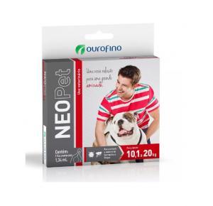 Antipulgas  Neopet Cães 10,1Kg a 20Kg  (1flaconete)