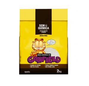 Areia Higiênica Garfield Clássica Amarela - 2kg
