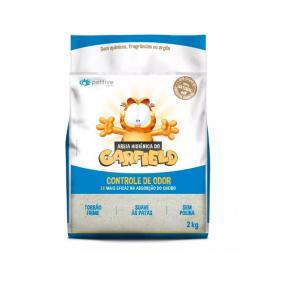 Areia Higiênica Garfield Clássica Cinza Bio Fina  - 2kg