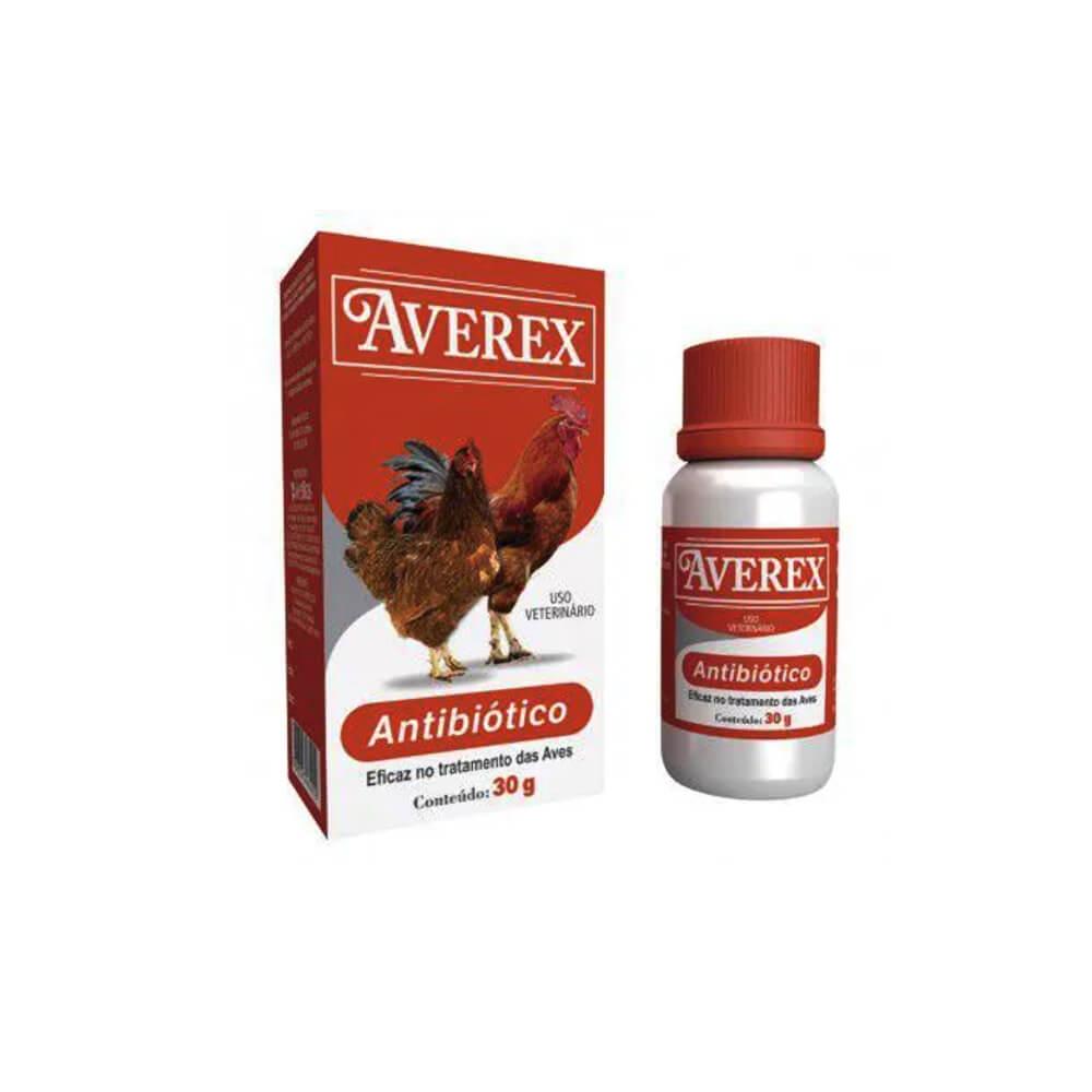 Averex Antibiótico em Pó 30gr Vetbras