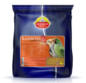 Bambito extrusado psitasideos  Biotron -  5kg