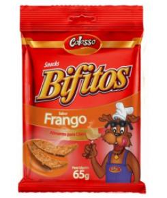 Bifitos Colosso Sabor Frango 65g