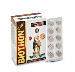 Biothon Cães Com 10 Comprimidos Biofarm