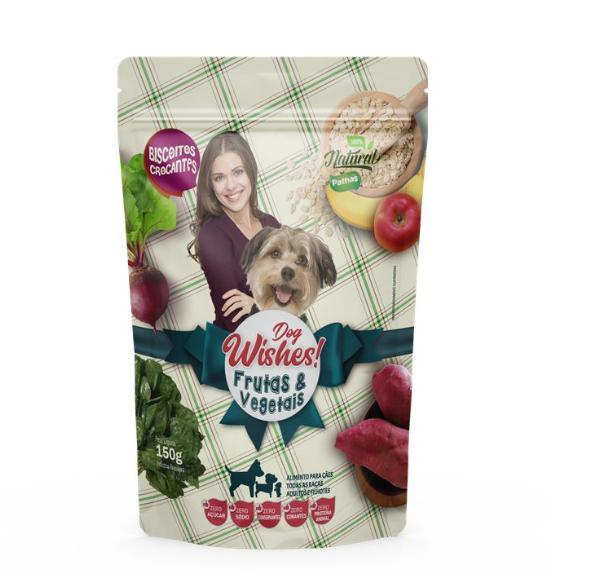 Biscoito Dog Wishes PetLab para Cães Frutas e Vegetais 50g