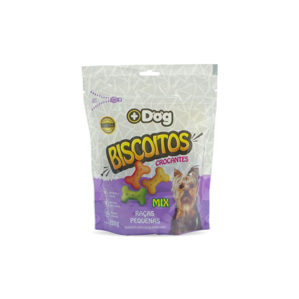 Biscoito Mix Raças Pequenas 200gr Mais Dog