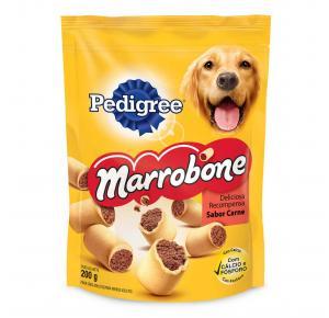 Biscoito Pedigree Marrobone para Cães Adultos Sabor Carne 200g