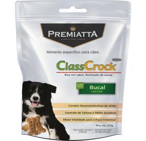 Biscoito Premiatta ClassCrock Snacks Bucal para Cães