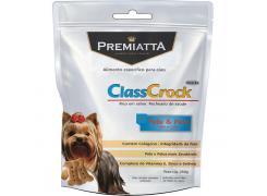 Biscoito Premiatta ClassCrock Snacks Pele & Pelo para Cães