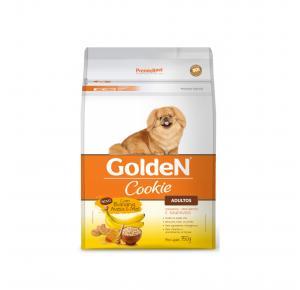Biscoito Premier Pet Golden Cookie Banana Aveia e Mel para Cães Adultos 350g