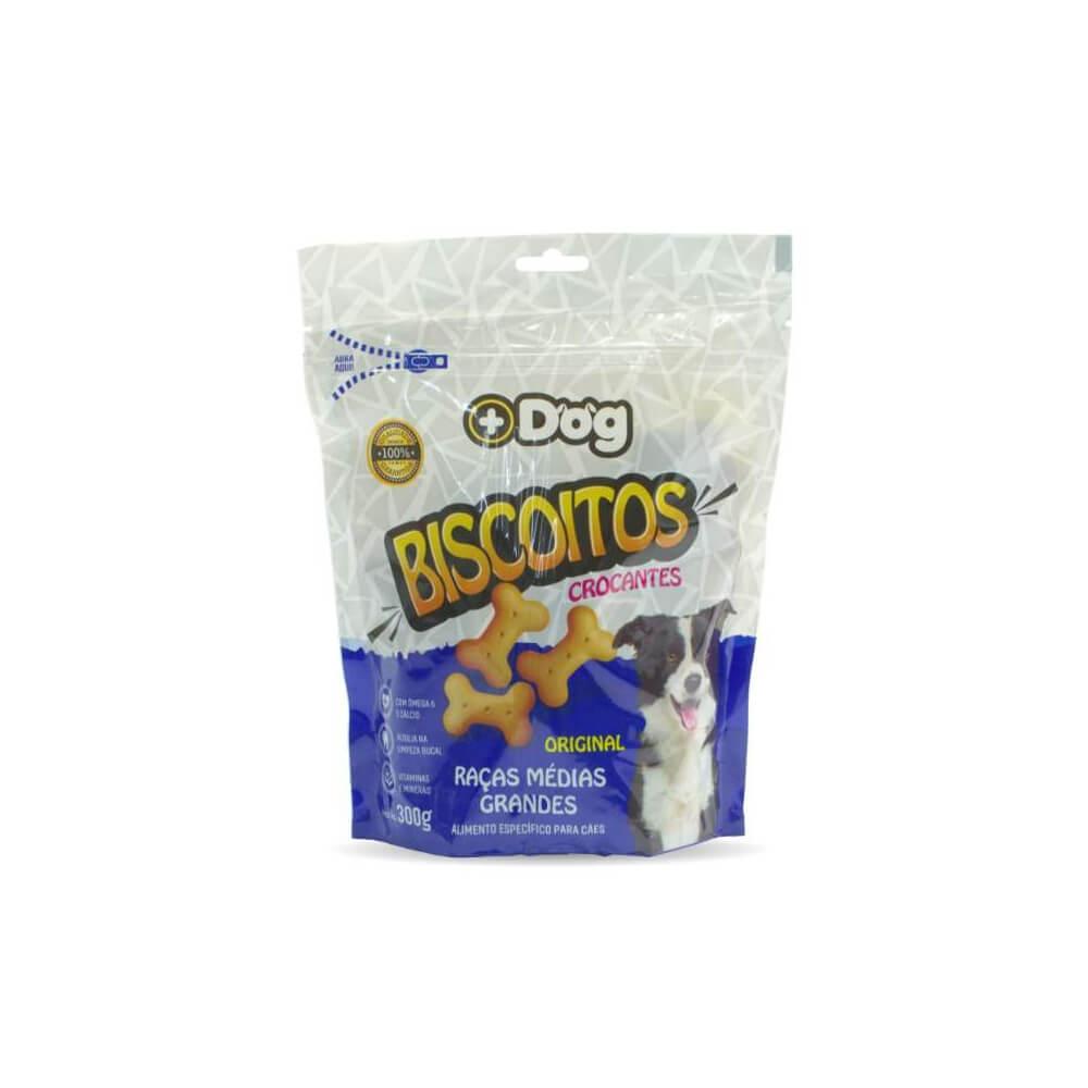 Biscoitos Original Raças Médias e Grandes 300gr Mais Dog