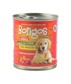 Bongos Patê de Carne para Cães Adultos 280g