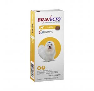 Bravecto Antipulgas Oral Cães 2 a 4.5 kg