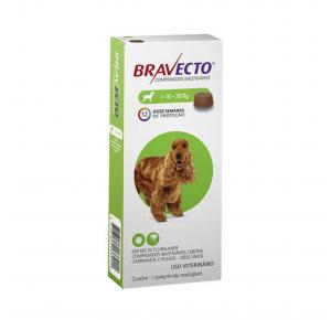Bravecto  Antipulgas Oral para Cães de 10 a 20kg
