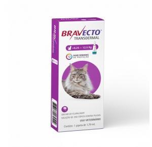 Bravecto Transdermal Antipulgas Para Gatos De 6,25 A 12,5kg