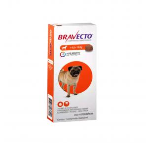 Bravecto Antipulgas Oral  para Cães 4.5 à 10kg
