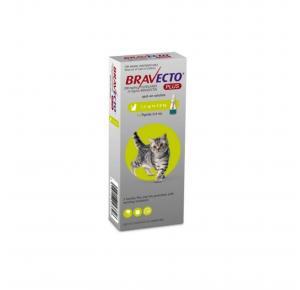Bravecto Plus Gato 1.2 à 2.8kg 1 Pipeta