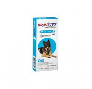 Bravecto Transdermal Antipulgas Cães de 20 à 40kg