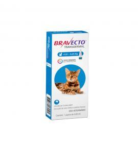 Bravecto Transdermal Antipulgas para Gatos 2.8 à 6.25 Kg