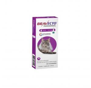 Bravecto Transdermal Antipulgas para Gatos de 6.25 à 12.5kg
