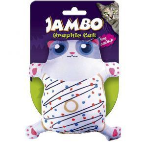 Brinquedo Cat Grafic Cute Donut Jambo para Gatos
