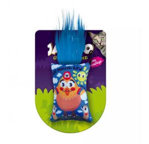 Brinquedo Cat Grafic Cute Galinha Jambo para Gatos Azul