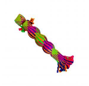 Brinquedo Corda 3 Bolas Colorfull Jambo Pet