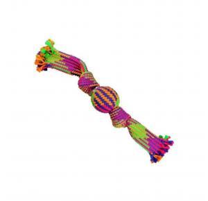 Brinquedo Corda Noh Bola Colorfull Jambo Pet