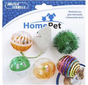 Brinquedo Home Pet  Gato Feliz