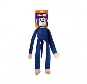 Brinquedo Mordedor Pelúcia Macaco Mesh Grande Cores Sortidas Jambo Pet