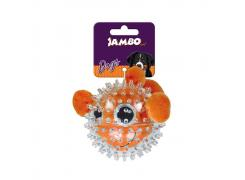 Brinquedo Pelúcia para Cães Spiky Ball Peixe Jambo Pet