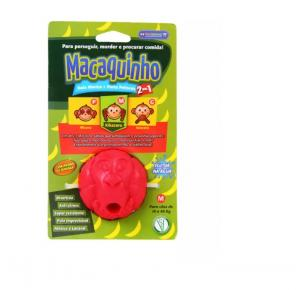 Brinquedo Pet Games Macaquinho com Compartimento para Petisco - Cores Sortidas M