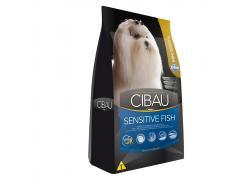 Ração Farmina Cibau Sensitive Fish para Cães Adultos de Raças Pequenas 10.1kg