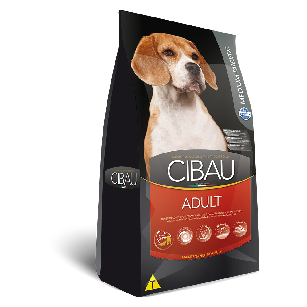 Ração Cibau  para Cães Adultos de Raças Médias