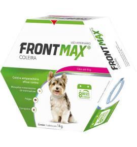 Coleira Antiparasitária Frontmax para Cães até 4 Kg