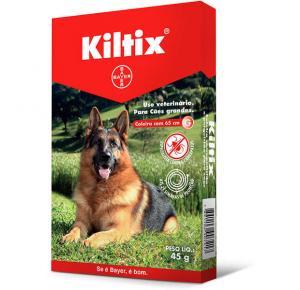 Coleira Bayer Antipulgas e Carrapatos Kiltix para Cães G 65 cm