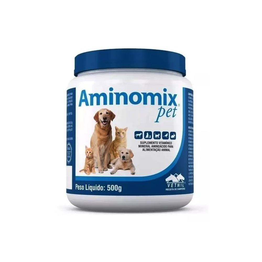 Complexo Vitamínico Aminomix Pet 500gr Vetnil
