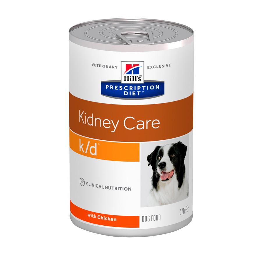 Ração Úmida Hills Prescription Diet K/D Cuidado Renal Para Cães Adultos Com Doença Renal - 370g